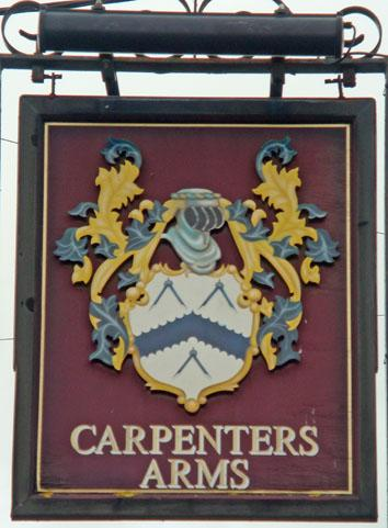 Carpenters pub sign